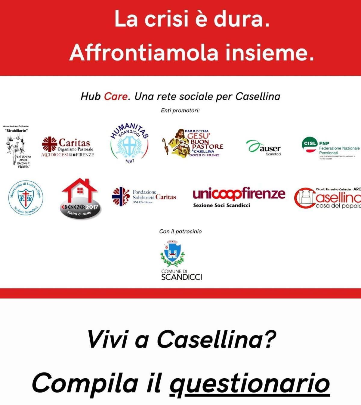 Povertà questionario Casellina