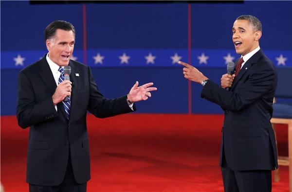 2nd Presidential debate 2012