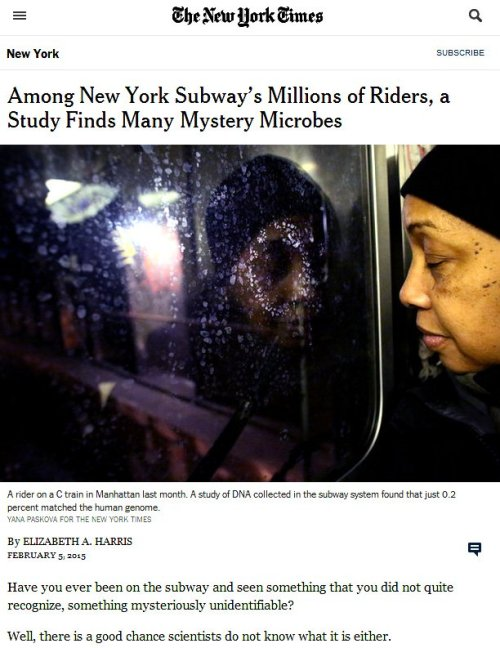 Screenshot of photo accompanying NYT article