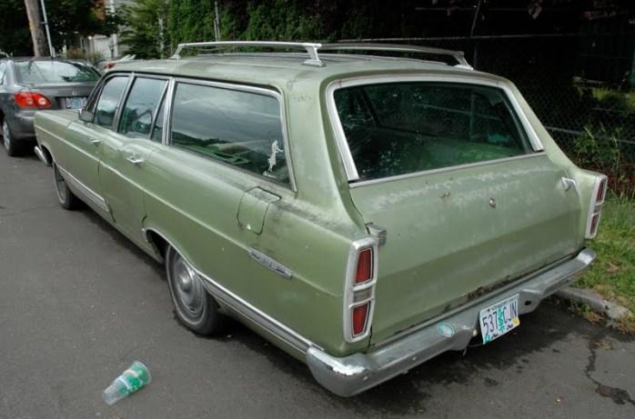 1967 Ford Fairlane 500 Station Wagon 289 V8 Second Generation 3
