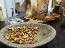 Gebrannte Cashews in Kokosblütenzucker