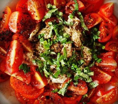 Tomate Mozzarella Pfeffer