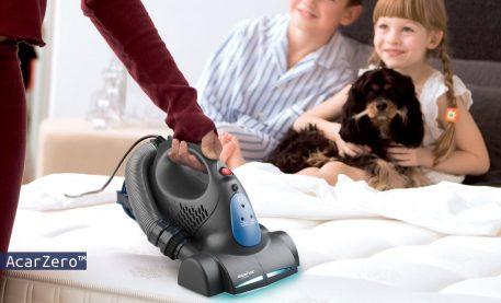 Aspirapolvere anti acaro della polvere Aspirac a luce UV e filtro Hepa