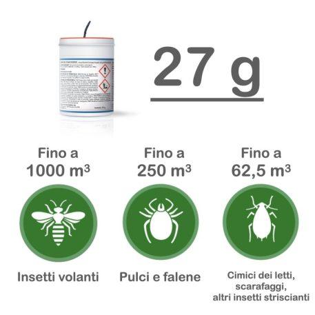 Duracid fumigante 27 gr dosaggio