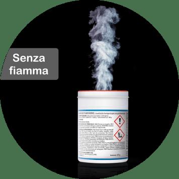 Duracid insetticida fumigante senza fiamma