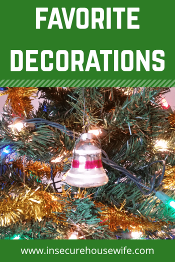 Decorating for the holidays feels wonderful. Especially when one takes the time to admire those ornaments that have become favorites over the years.