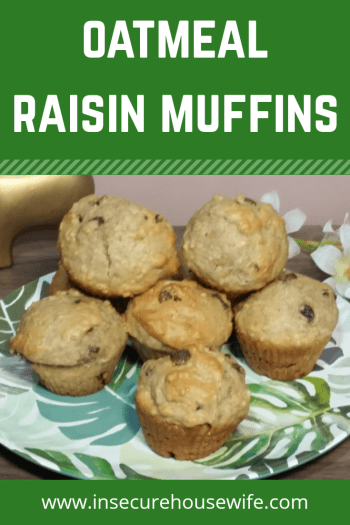 These oatmeal raisin muffins are easy to make, have great flavor and are sure to be a hit with your family. Great for breakfast or a snack.