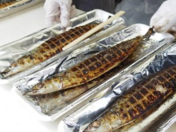 焼き秋刀魚_仕上がり