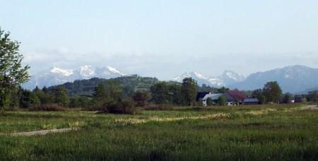 Koniówka – widok na Tatry