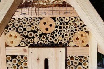 Wildtierherz Insektenhotel