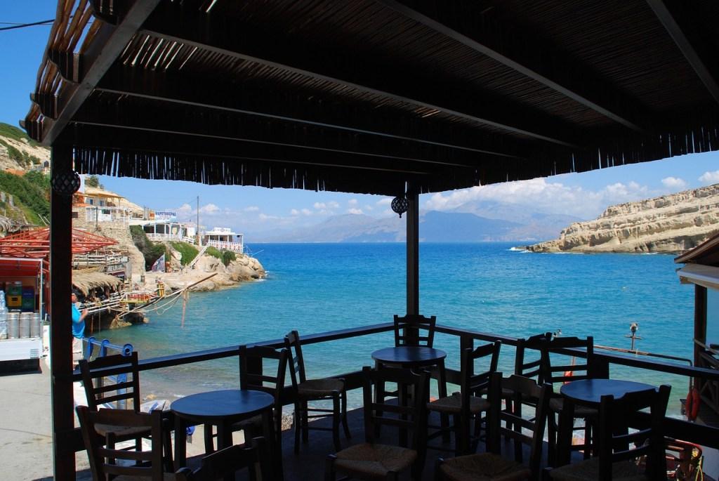 Tavernen in Kreta Matala
