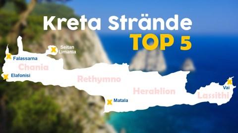 Die besten Strände auf Kreta