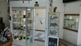 Detector de metais em joalheria
