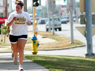 Running is a fitness alternative.