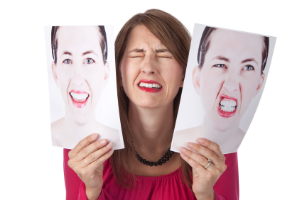 Woman Overwhelmed By Her Emotions