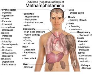 Illicit drug use can result in lasting health damage