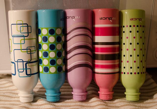 Funky water bottles