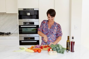 Dr Joanna McMillan suggests eating veggies to improve your travel food safety