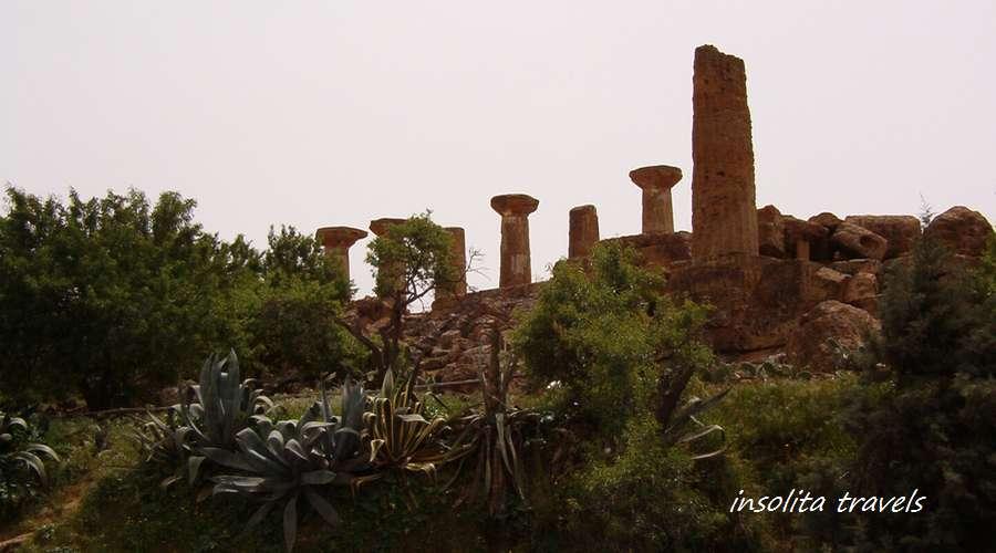sicilia agrigento tempio ercole