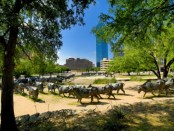 Pioneer Platza in Dallas. Foto: DCVB