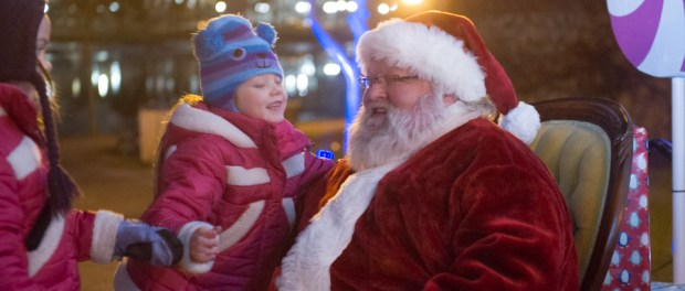Rockford - Stroll on State - Kinder bei Santa Clause. - Foto Rockford Area CVB