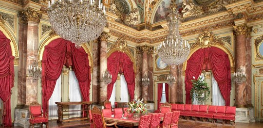 Herrschaftliches Speisezimmer im Breakers Mansion. - Foto: The Preservation Society of Newport County
