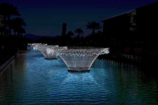 Bruce Munro stellt im Scottsdale Museum of Contemporary Art (SMoCA) aus. - Foto: Scottsdale Convention and Visitors Bureau