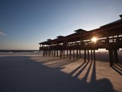 Sonnenuntergang am Pier in Panama City Beach. - Foto: Visit Panama City Beach