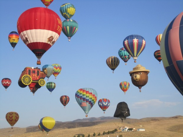 Great Reno Balloon Race. - Foto: Nevada Division of Tourism