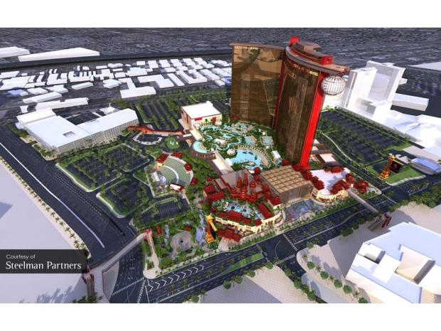 Resorts World Las Vegas. - Grafik: LVCVA