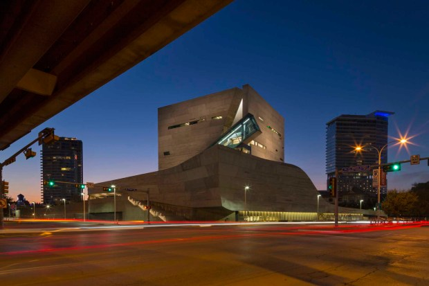 Das Perot Museum of Nature and Science. - Foto: Mark Knight Photography