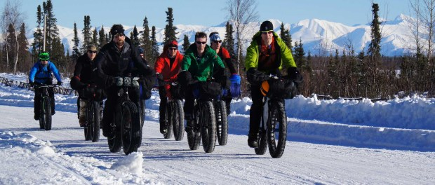 Fatbikes in Anchorage. - Foto: Angie Clover/Visit Anchorage