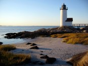 Morgenstimmung am Annisquam Lighthouse. - Foto: Massachusetts Office of Travel and Tourism