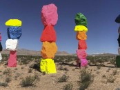 Seven Magic Mountains in Nevada. - Foto: Las Vegas News Bureau