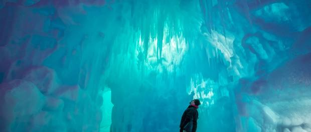 Ice Castles in Winnipeg. - Foto: Karl Moore