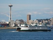 Washington State Ferry in Elliot Bay. - Foto: Visit Seattle/Howard Frisk Photography