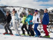 Deer Valley Resort Ski With A Champion Programm. - Foto: Credit Deer Valley Resort