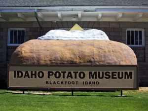 Das Idaho Potato Museum in Blackfoot. - Foto: Visit Idaho