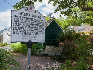 Frederick-Douglass-Schild in St. Michaels, Maryland. - Foto Capital Region USA