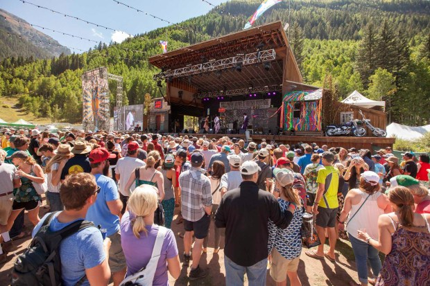 Telluride Blues & Brews Festival. -Foto: Telluride Blues & Brews