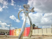 "Der ""Traveling Man"" in Dallas, Texas. - Foto: Dallas Convention & Visitors Bureau"