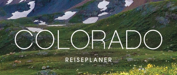 Colorado Reiseplaner 2018 - Cover