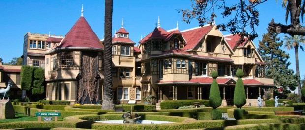 Winchester Mystery House. - Foto: Christy Sharp