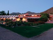 In Tailiesin West verbrachte Frank Lloyd Wright so machen Winter. - Foto: Taliesin West