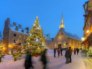 Weihnachten in Québec City. - Foto: Destination Canada