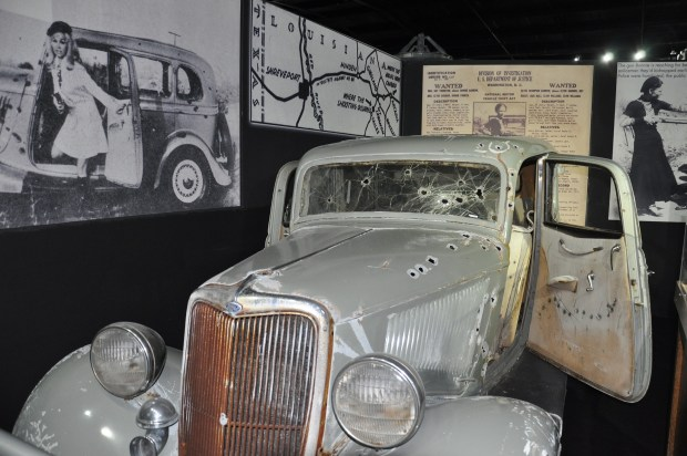 Historic Auto Attractions - Bonnie & Clyde Fimfahrzeug. - Foto: Illinois Office of Tourism