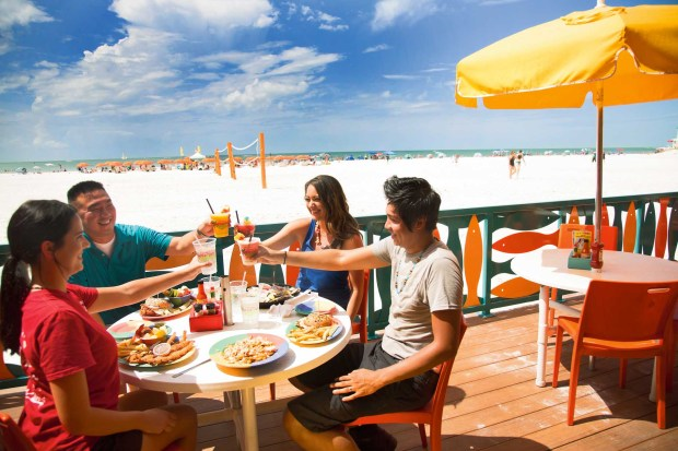 Lecker im Frenchy's Rockaway essen. - Foto: Clearwater Beach