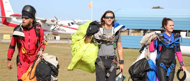 Skydiving in Florida. - Foto: Florida's Sports Coast