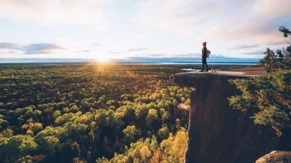 Cup and Saucer Trail auf Manitoulin Island. - Foto: Max Coquard