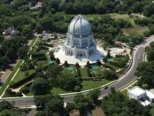 Bahai House of Worship. - Foto: Chicago's North Shore CVB